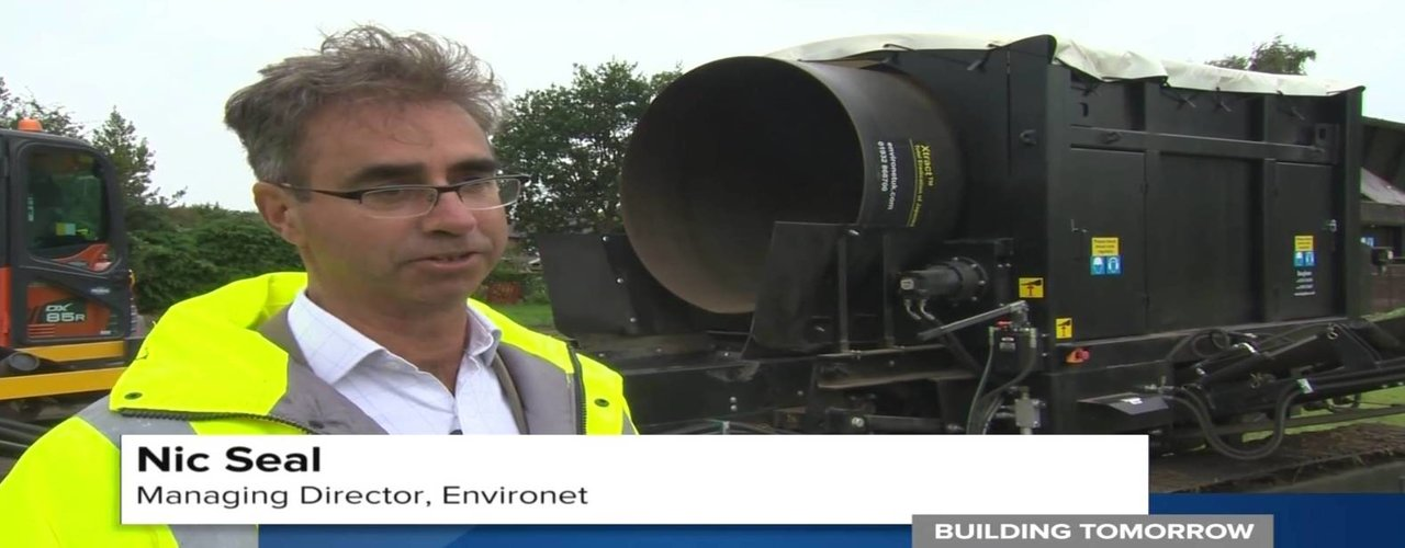 Environet Japanese knotweed removal Building Tomorrow Film ITN Productions