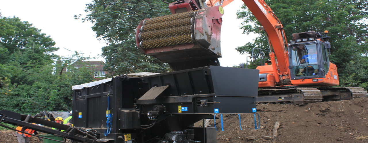 Xtract machine for Japanese knotweed removal